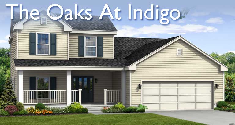 New Homes in The Oaks at Indigo in Summerville SC and Charleston SC