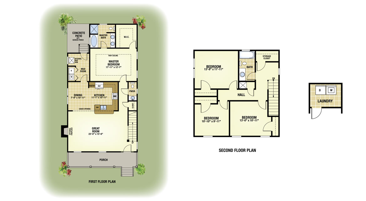 Cooper Detached Lot 18 New Homes In The Oaks At Indigo