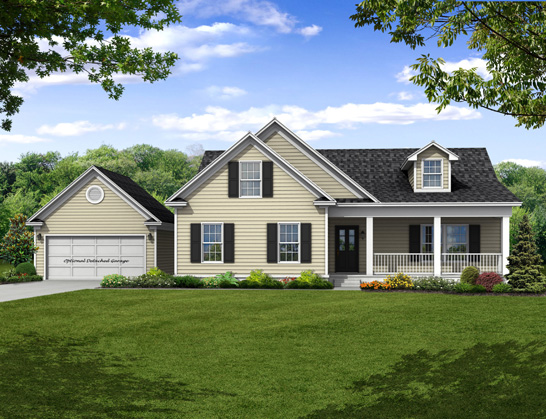 New two story Home, The Berkeley with 2,433 square feet 4 bedrooms 3.5 bath with 2 car garage.